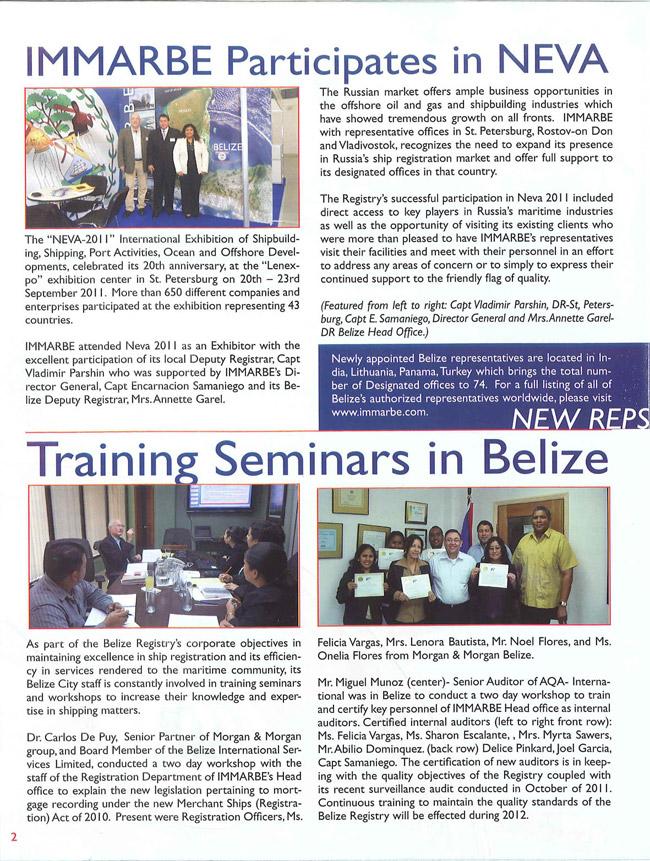 February 2017 Interconsult Belize